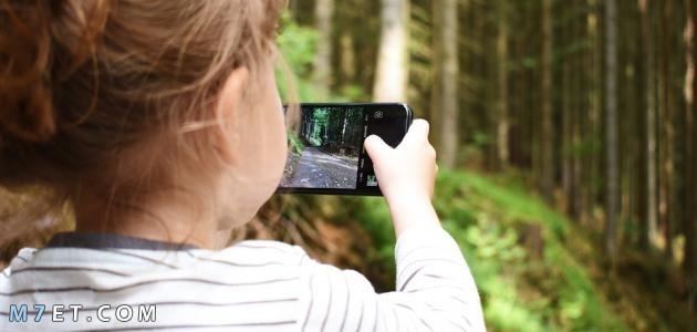 آثار الهاتف النقال على الأطفال