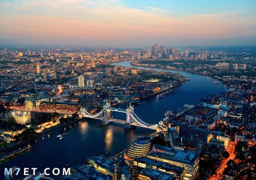 مدن سياحية في بريطانيا