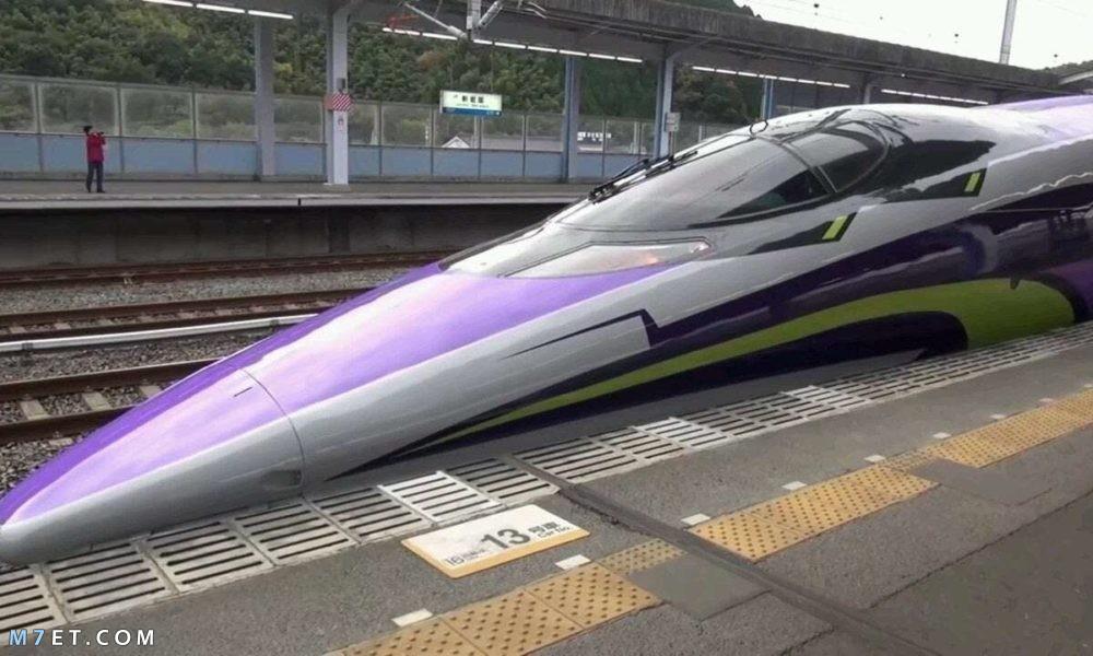 اين يوجد اسرع قطار في العالم