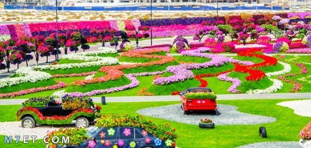 اين تقع حديقة الزهور