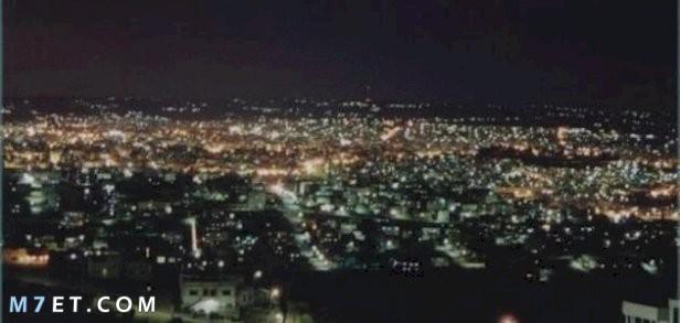 ارتفاع مدينة إربد عن سطح البحر