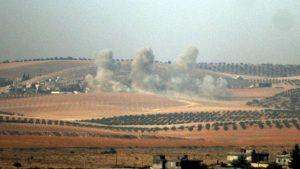 المدن السورية على الحدود التركية