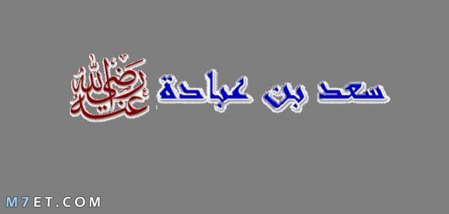 صفات سعد بن عبادة