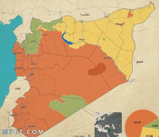 المدن السورية على الحدود التركية وأهم معالمها التاريخية والسياحية