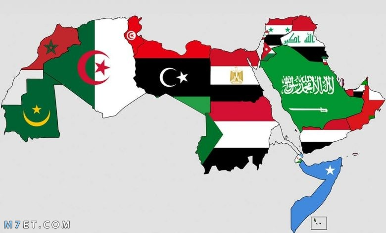 كم دولة عربية تقع في قارة أفريقيا