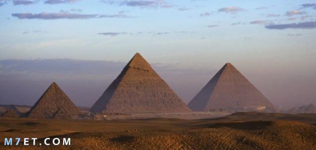 الأهرامات المصرية وكيف بنيت