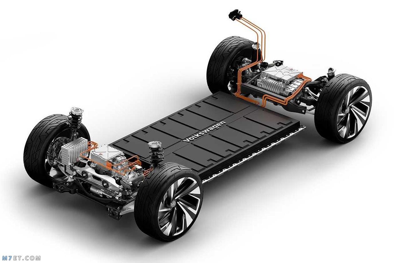 كيف تعمل السيارات الكهربائية