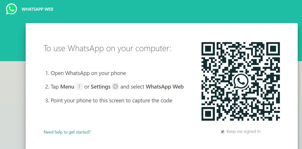 تطبيق واتس اب على الكمبيوتر