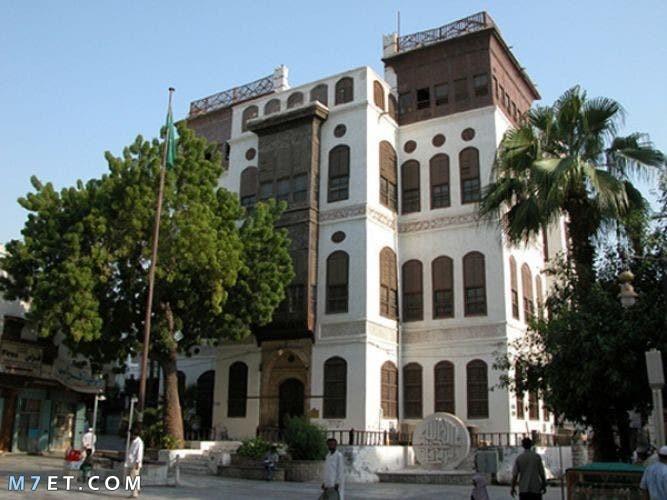 اين يقع بيت نصيف التاريخي