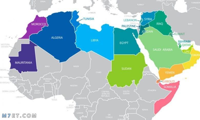 الدول العربية في القارة الإفريقية