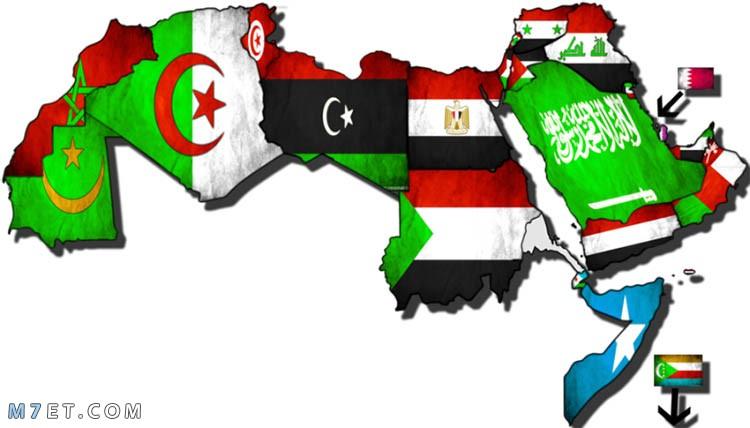 كم دولة في الوطن العربي