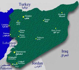 ما هي مدن سوريا الداخلية