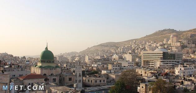 قرى مدينة نابلس