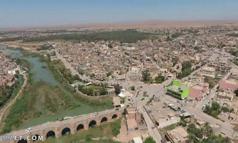 محافظة ديالي في العراق
