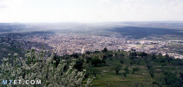 مدينة ادلب السورية