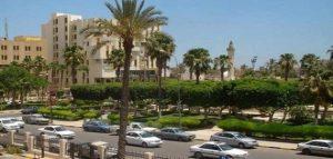 مدينة الزاوية في ليبيا