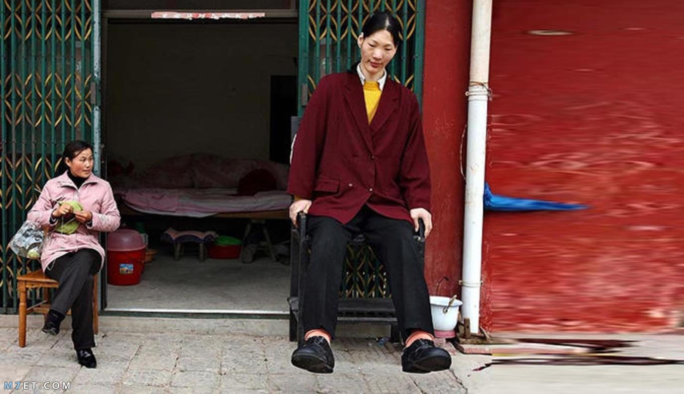 اطول امرأة في العالم