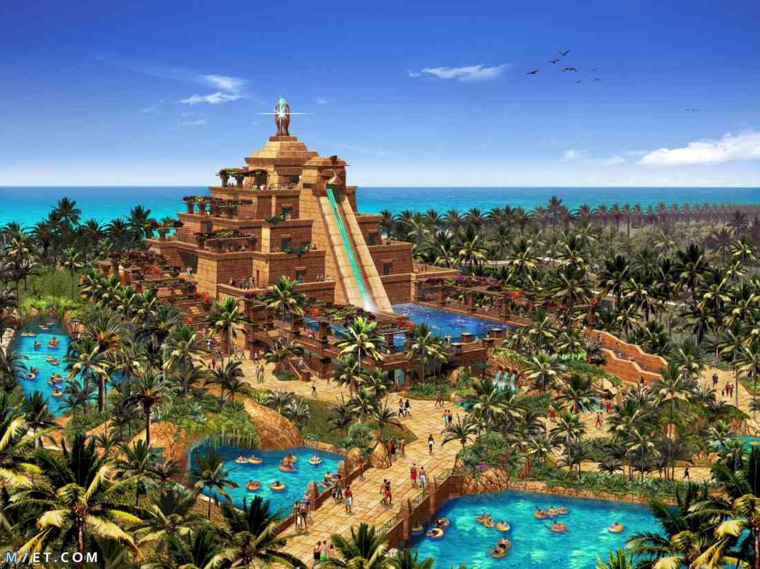 أين يقع فندق اتلانتس دبي