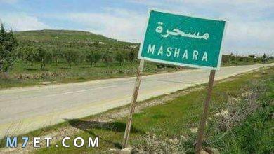Photo of أهم المعلومات حول بلدة مسحرة
