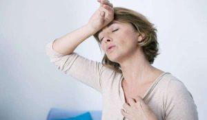 أعراض سن اليأس الجسدية