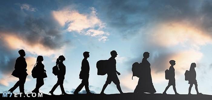 انواع الهجرة